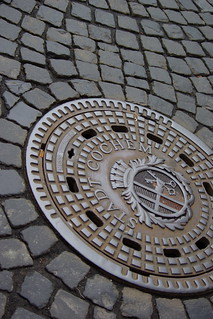 Manhole, Cochem | by The Hungry Cyclist