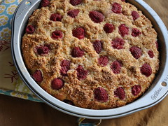 Raspberry Buttermilk Cake with Salt and Sugar Crust | by Turntable Kitchen