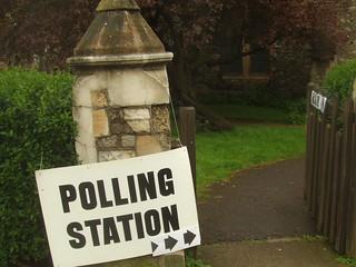 Polling Station Belsize Park