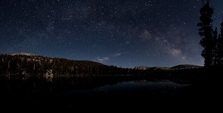 Milky Way Over Forester Lake | by kekoap
