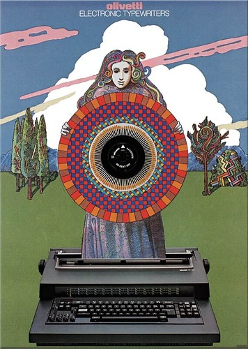 Milton Glaser - Olivetti, 1983 | by laura@popdesign