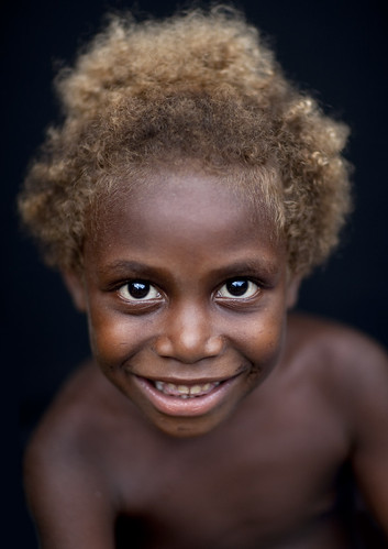 Blonde kid - Papua New Guinea | by Eric Lafforgue