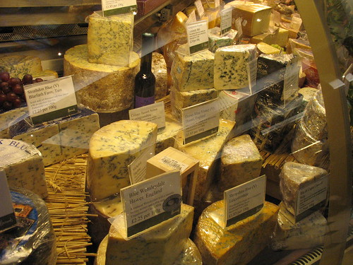 Cheese, Harrods Charcuterie, Fromagerie & Traiteur, Knightsbridge, London | by nikoretro