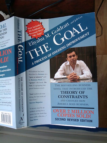 eliyahu m goldratts the goal essay Review of the goal by eliyahu goldratt essays: over 180,000 review of the goal by eliyahu goldratt essays, review of the goal by eliyahu goldratt term papers, review of the goal by eliyahu goldratt research paper, book reports 184 990 essays, term and research papers available for unlimited access.