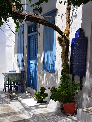 Chora, Amorgos | by DarkB4Dawn