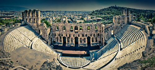 Odeon of Herodes Atticus, Acropolis, Athens, Greece | by The_Skinny_Boy