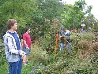 Community Service, Bryan Park Maintenance Day, October 2008-6 | by College Internship Program