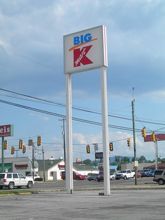 Uninspired Big Kmart sign Altoona, PA | by cooldude166861