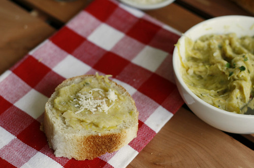 Leek Garlic Spread 2 | by Sarah :: Sarah's Cucina Bella