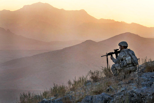 Early dawn in Tacome valley, Afghanistan | by The U.S. Army