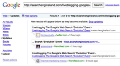 Google Real Time Search | by search-engine-land