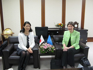 Meeting with UNDP GWA Misako Konno | by United Nations Development Programme