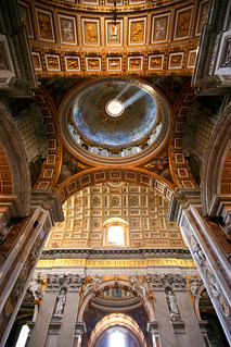 Looking up in St. Peter's | by Scott Norsworthy