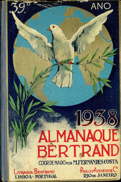 Almanaque Bertrand, 1938 - cover