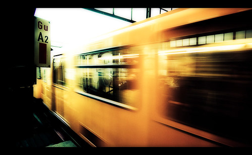 Berlin - Yellow train | by manlio_k