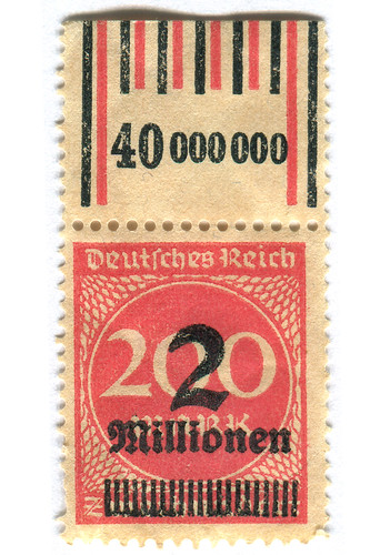 Germany Postage Stamp: 2 millionen | by karen horton