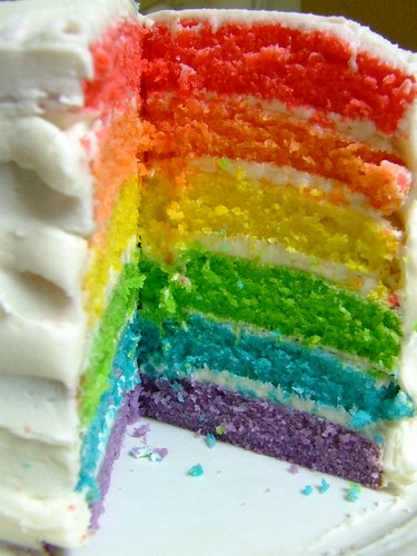 Rainbow cake | by Andrea_R