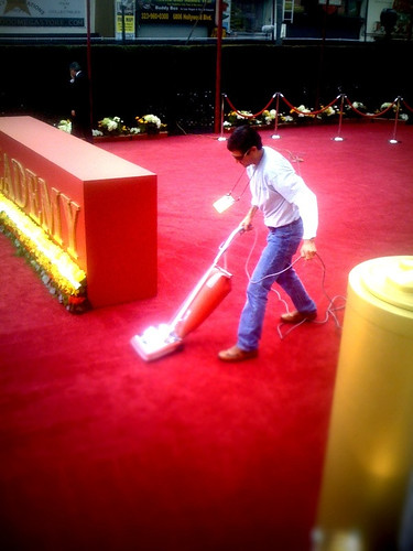 Cleaning the carpet | by Zadi Diaz