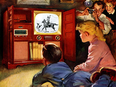 1953 - tv kids, snapshot | by x-ray delta one