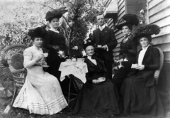 Afternoon tea in the garden, Gympie, ca. 1907 | by State Library of Queensland, Australia