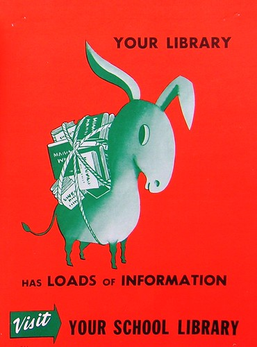 RETRO POSTER - Your Library Has Loads of Information | by Enokson