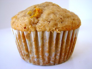 SMS Peach Muffins | by Tracey's Culinary Adventures