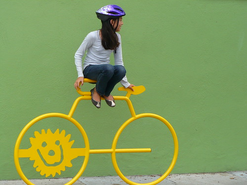 Sunny Bike Rack | by Adrienne Johnson SF