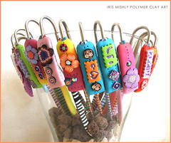 Polymer Clay Bookmarks | by Iris Mishly