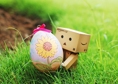Danbo's First Easter | by Ting Hay