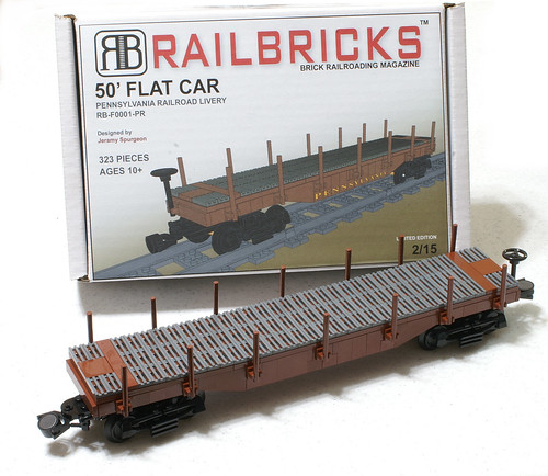 RAILBRICKS 50' Flat Car | by SavaTheAggie