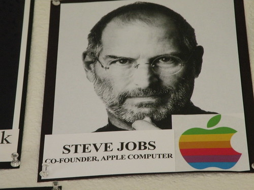 steve jobs co founder of apple computer | by Annie Bananie Angel soon