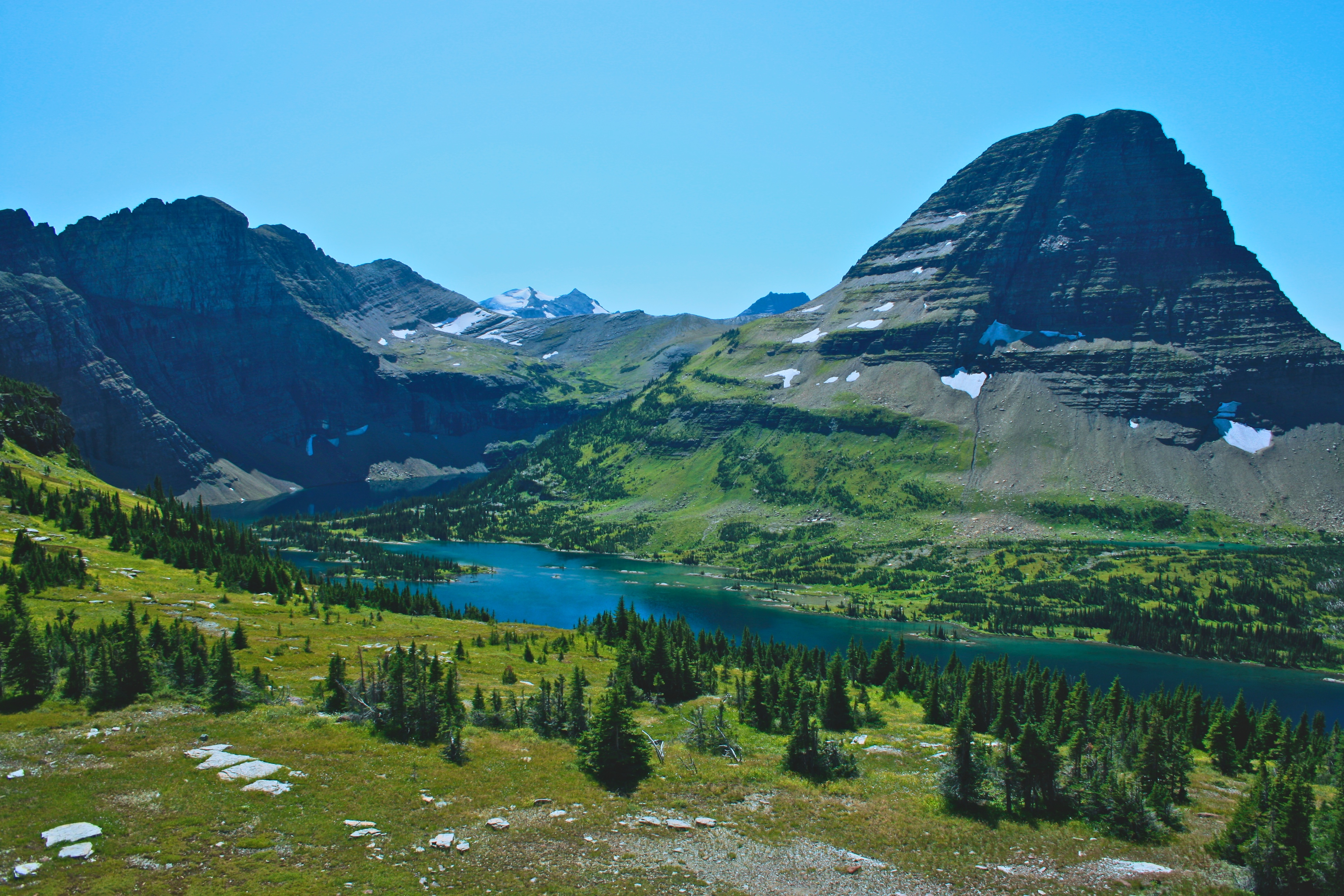 Bearhat Mountain And Hidden Lake