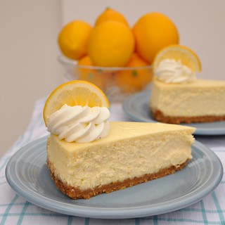 Meyer Lemon Cheesecake | by Food Lovers Odyssey