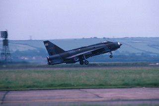 Lightning F.3 XR716/AQ 5 Sqdn. - Chivenor 87 | by GAL 01