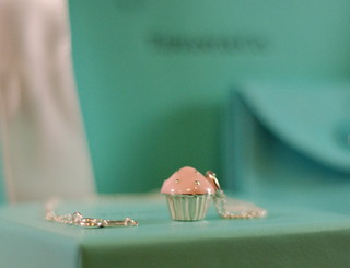 Tiffany Cupcake Charm Necklace | by Melody @ Party Cupcake Ideas
