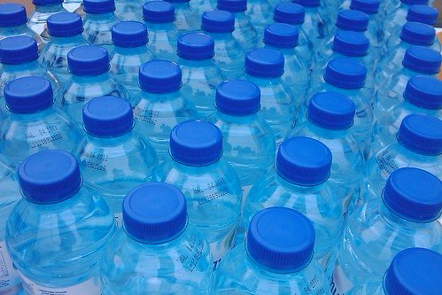 plastic water bottles | by zone41