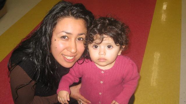Mirna Cibrian and Maya