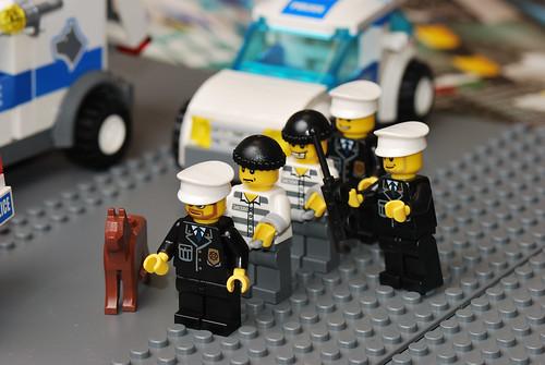Lego City Police Headquarters Speed Build