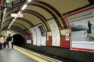 Chalk Farm tube station @ London