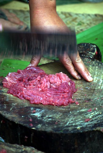 Making Beef Larb - Northern Laos | by The Hungry Cyclist