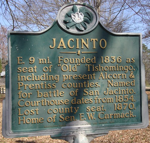 Jacinto Marker (Jacinto, Mississippi) | by courthouselover