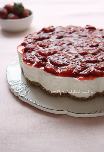 Torta yogurt e fragole recipe unafinestradifronte - Una finestra di fronte ...