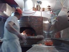 Pizzaiolo in azione