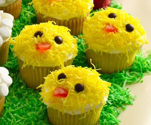 Easter Chick Cupcakes Recipe Flickr Photo Sharing