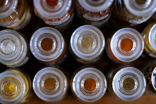 spice bottles, from the top | by smitten kitchen