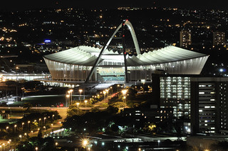 Moses Mabhida By Night | by Chris Bloom