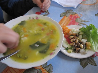 Soup and Salad | by veganbackpacker