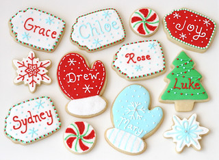Chirstmas Tag Cookies | by Glorious Treats