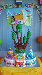 Cake Design Adventure Time : Adventure Time Cake Nora Rexach Flickr