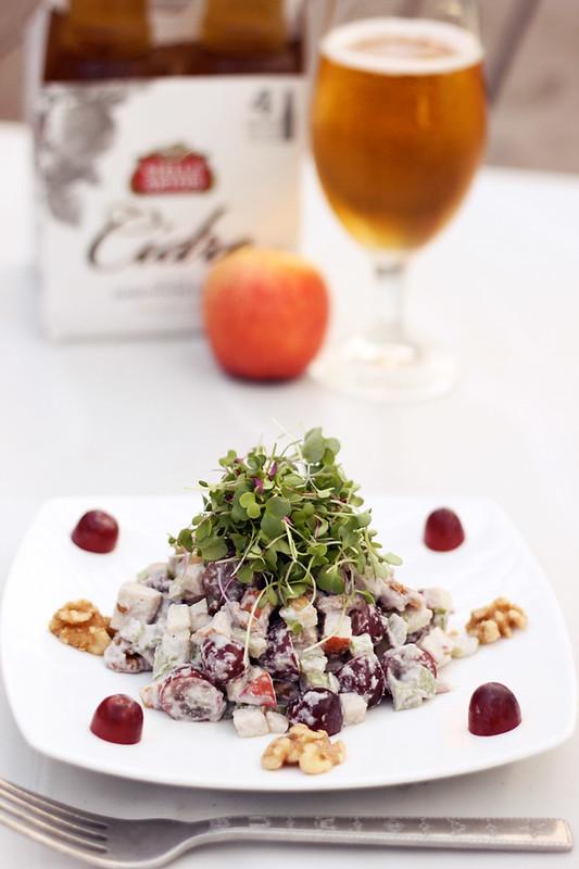 Vegan Waldorf Salad {Gluten-free}
